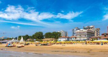 Cervia: Familienhotel am Strand